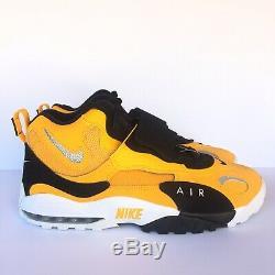 Nike Air Max Speed Turf Pittsburgh Steelers Mens Sz 13 Yellow Black BV1165 700