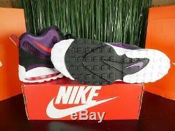 Nike Air Max Speed Turf Purple Black White Mens Shoes 525225-500 Size 13