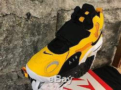 Nike Air Max Speed Turf Shoe (BV1165-700) University Gold Wht-Blk New Men's 2018