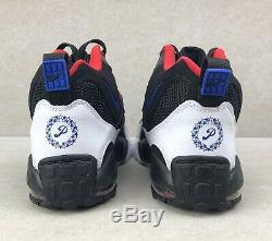 Nike Air Max Speed Turf Shoes Black Red Philadelphia 76ers Men's 11 BV1230-001