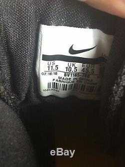 Nike Air Max Speed Turf Shoes Steelers Black Yellow Mens 11.5 BV1165-700