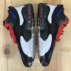 Nike Air Max Speed Turf Size 12 Mens Phila Black Game Royal Basketball Shoes