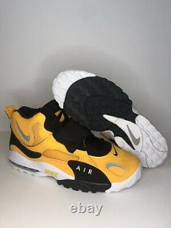 Nike Air Max Speed Turf Trainers Gold Black Steelers Shoes BV1165-700 SZ 11.5