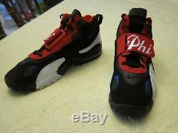 Nike Air Max Speed Turf Trainers Philadelphia 76ers Shoes Sz 14 BV1230-001