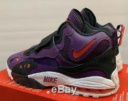 Nike Air Max Speed Turf Training Shoes 525225-500 Mens Size 10 Purple White