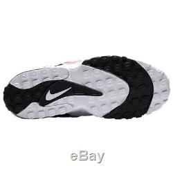 Nike Air Max Speed Turf White/Black/Red 49ers Mens Diamond 2018 Retro All NEW