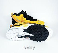 Nike Air Max Speed Turf Yellow Black Steelers Mens Sz 8 12 BV1165-700 SHIPS FREE