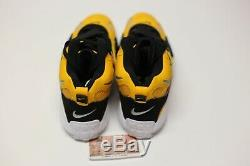 Nike Air Max Speed Turf Yellow Gold White Black BV1165-700 Men's Shoe Size 9