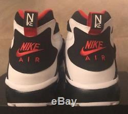 Nike Air Turf Diamond Deion Sanders Black/Red/White Men's Size 9 (309434-105)