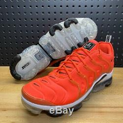 Nike Air VaporMax Plus Bright Crimson Overbranding 924453 602 Mens Size 14