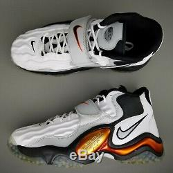 Nike Air Zoom Turf Jet 97 Athletic Shoes Mens SZ 12 White Black Metallic Copper