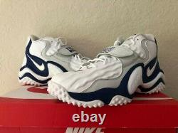 Nike Air Zoom Turf Jet 97 Barry Sanders CW6680-100 Limited Men's Shoe Size 9.5