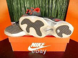 Nike Air Zoom Turf Jet 97 Mens Shoes Gray Red 554989-004 Size 11