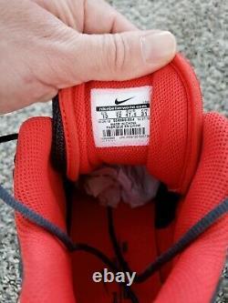 Nike Air Zoom Turf Jet BARRY SANDERS 97 Athletic Shoes Sneakers Football Sz 13