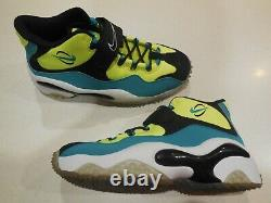 Nike Air Zoom Turf Shoes -Volt-2014 Barry Sanders Trainers 644104 700 -Sz 9 -NEW