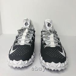 Nike Alpha Huarache 6 Elite LAX/Football Turf Shoes Mens RARE Size 11 923426-102