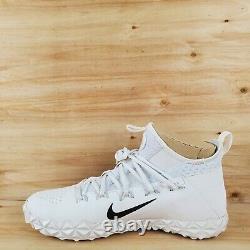 Nike Alpha Huarache 6 Elite Lax/football Turf Shoes 923426-107 Men's Sz 11.5