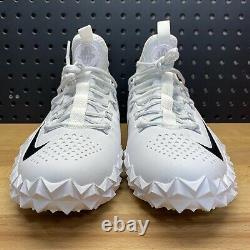 Nike Alpha Huarache 6 Elite Turf Lacrosse LAX Shoes 923426-107 Mens Size 11