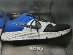 Nike Alpha Huarache Elite 2 Baseball Turf Shoes Size 10 Camo Blue AV2472-401