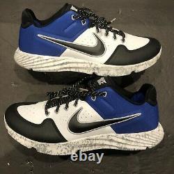 Nike Alpha Huarache Elite 2 Baseball Turf Shoes Size 11 Camo Blue AV2472-401