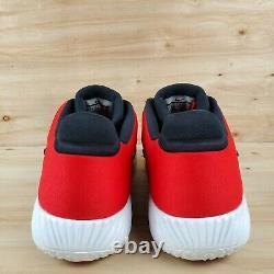 Nike Alpha Huarache Elite 2 Dragon Black Toe Turf Shoes Aj6877-106 Men's Sz 10.5