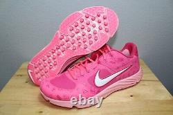 Nike Alpha Huarache Elite 2 Mothers Day Baseball Turf Shoes CI2222-603 Men Sz 10
