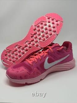 Nike Alpha Huarache Elite 2 Mothers Day Baseball Turf Shoes CI2222-603 Size 11