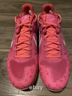 Nike Alpha Huarache Elite 2 Mothers Day Baseball Turf Shoes CI2222-603 Size 12