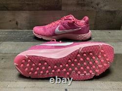 Nike Alpha Huarache Elite 2 Mothers Day Baseball Turf Shoes CI2222-603 Sz 11.5