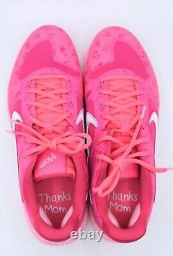 Nike Alpha Huarache Elite 2 Mothers Day Baseball Turf Shoes Size 10 CI2222-603