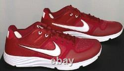 Nike Alpha Huarache Elite 2 Size 13 Turf Cleats OU Mens US Sooners CU0149-602