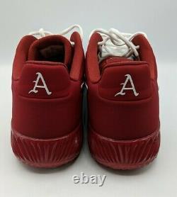 Nike Alpha Huarache Elite 2 Turf Arkansas Razorbacks Size 12.5 Shoes CU0149 101
