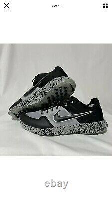 Nike Alpha Huarache Elite 2 Turf Baseball AV2472-001 Mens SZ 12.5 Shoes Cleats