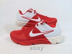 Nike Alpha Huarache Elite 2 Turf Red Baseball Shoes Sz 12 NEW CI2222 600 RARE