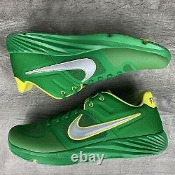 Nike Alpha Huarache Elite 2 Turf Shoe Oregon Fighting Ducks Size 13 CU0149-300