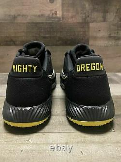 Nike Alpha Huarache Elite 2 Turf Shoes Oregon Ducks CU0149-003 Size 8