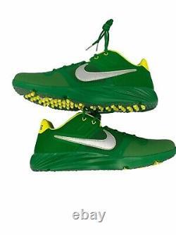 Nike Alpha Huarache Elite 2 Turf Shoes Oregon Fighting Ducks Size 12 CU0149-300