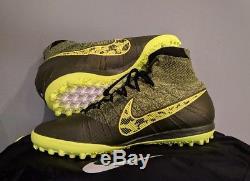 Nike Elastico Superfly Tf Astro Turf Futsal Football Soccer Shoes 017