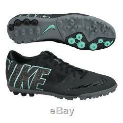 Nike FC247 Bomba Finale II ACC Turf Soccer Shoes Turquoise/Black 580447-230 SZ 8