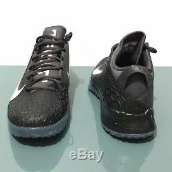 Nike Force Zoom Mike Trout 5 Mens Turf Shoes Black White Size 13 New AH3374-014
