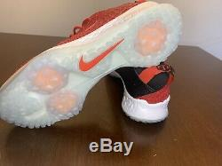 Nike Force Zoom Trout 5 Baseball Turf Shoes AH3374-601 Red Black Mens Size 9.5