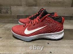 Nike Force Zoom Trout 5 Baseball Turf Shoes AH3374-601 Red Mens Size 11