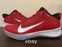 Nike Force Zoom Trout 5 Baseball Turf Shoes AH3374-601 Red Mens Size 12