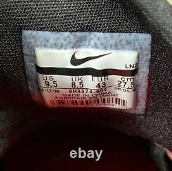 Nike Force Zoom Trout 5 Baseball Turf Shoes Mens Size 9.5 Red Black AH3374-601