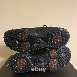 Nike Force Zoom Trout 5 Baseball Turf Shoes Triple Black AH3374-002 Mens Size 8