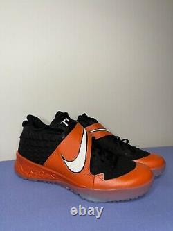 Nike Force Zoom Trout 6 Orange Baseball Turf Shoes Men's Size 10.5 (CQ0998-001)