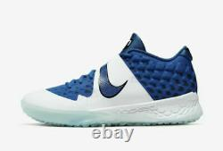 Nike Force Zoom Trout 6 Turf AT3463-400 Baseball Shoes Blue/White Mens Size 13