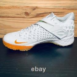 Nike Force Zoom Trout 6 Turf Baseball Shoes Size 11 White Magma Orange NEW RARE