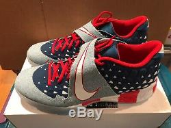 Nike Force Zoom Trout 6 Turf Premium USA Flag Baseball Shoes Men's Size 13 New