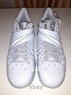 Nike Force Zoom Trout 6 Turf Wolf Grey Baseball Shoes (AT3463-002)Size 10.5 NEW